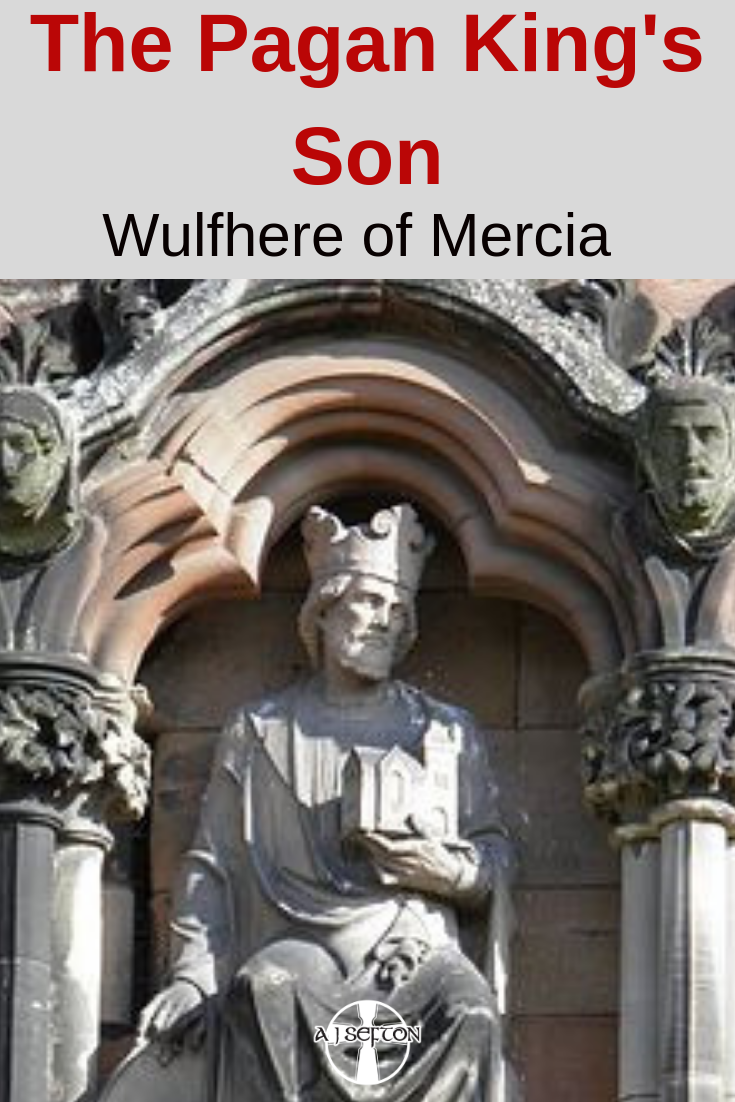 Wulfhere of Mercia. Photograph by A.J. Sefton